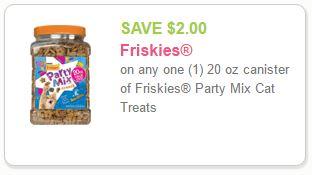 Friskies Cat Treats Coupon-Print Coupon Save $2.00