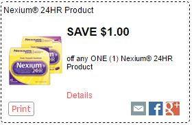 Nexium Coupon-$1.00 Off On One Nexium Domestic Divas Coupons