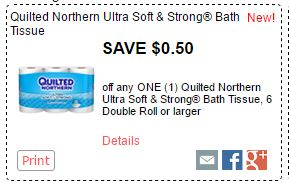 Quilted Northern Tissue Coupon Print To Save $0.50 Domestic Divas Coupons