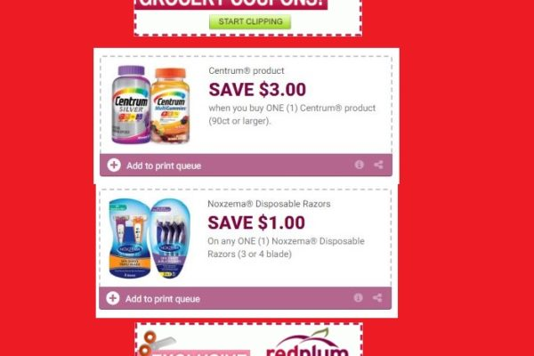 RedPlum Coupons Printable Coupons DomesticDivasCoupons