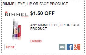 Rimmel Cosmetics Coupon-Save $1.50 DomesticDivasCoupons