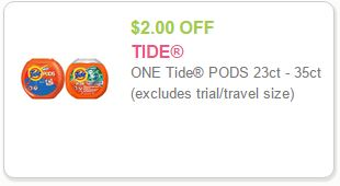 Tide Coupon Print Tide Coupon To Save $2.00