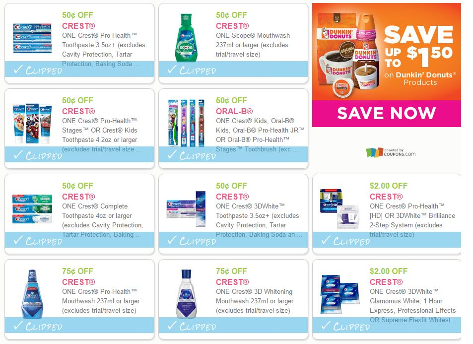 photograph relating to Crest Printable Coupons named 10 Fresh new Printable Crest Discount codes! Family Divas Discount coupons