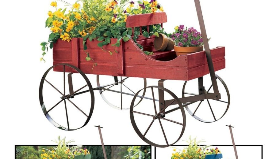 Amish Wagon Decorative Garden Planter DomesticDivasCoupons