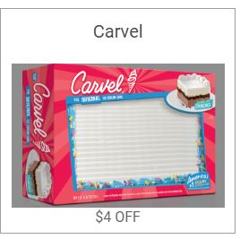 Carvel Cake Coupon