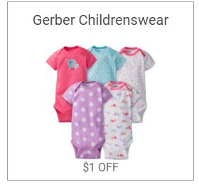 Gerber Childrenswear Coupon