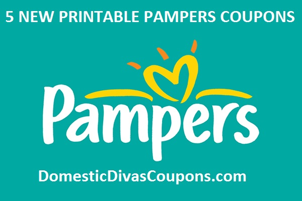 Pampers Coupons-5 Printable Pampers Coupons! DomesticDivasCoupons