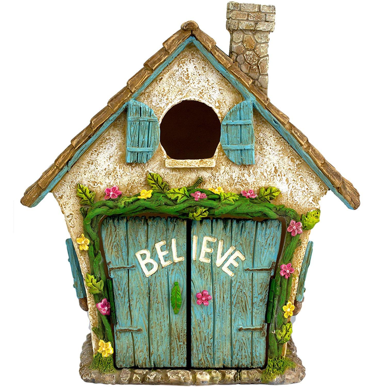 The Adorable Believe Fairy Garden House DomesticDivasCoupons