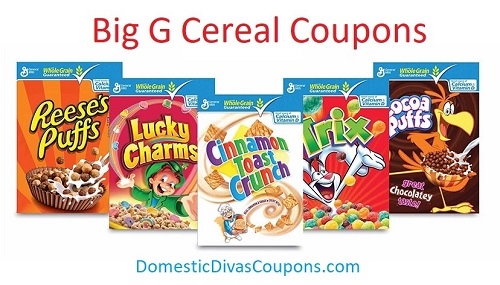 Big G Cereal Coupons2
