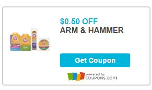 Print Coupon To Save $0.50 On Arm & Hammer Vacuum Bag Or Filter