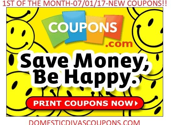 1st Of The Month-7-1-17-NEW COUPONS! Domestic Divas Coupons