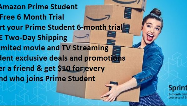 Amazon prime student coupon code