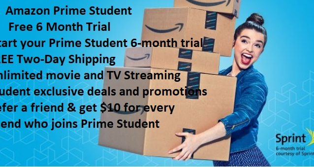 Amazon Prime Student Free 6 Month Trial 2 Domestic Divas Coupons