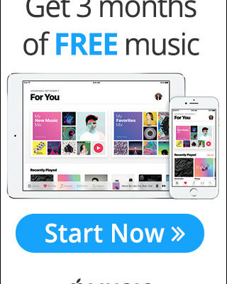 Apple Music Get 3 Months FREE Domestic Divas Coupons
