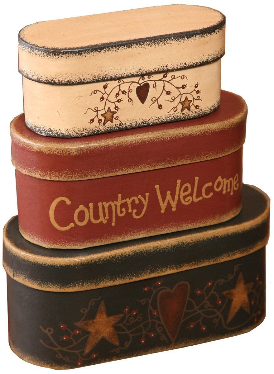 Country Welcome Nesting Boxes Domestic Divas Coupons