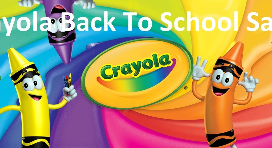 Crayola Back to School Sale!