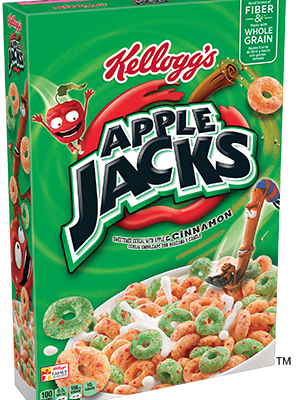 Kellogg's Apple Jacks Cereal Coupon Save $0.50