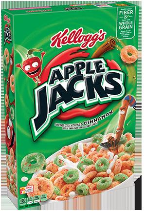 Kellogg's Apple Jacks Cereal Coupon Save $0.50