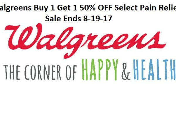 WalgreensBuy 1 Get 1 50% OFF Select Pain Relief Domestic Divas Coupons
