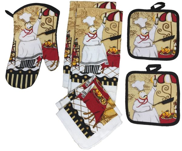 Bon Owl Kitchen Towel Set Great For Fall Set Of 7
