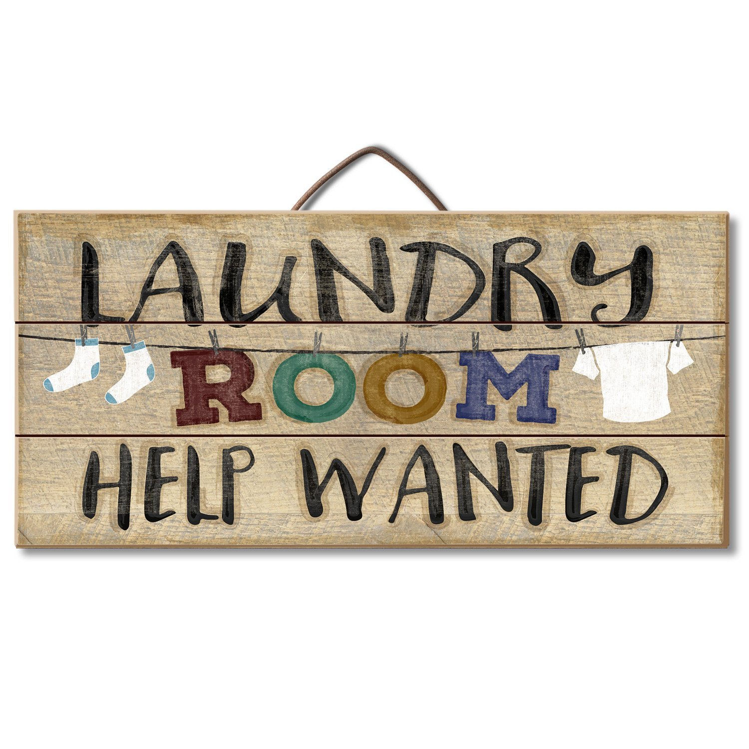 Laundry Room Help Wanted Reclaimed Wood Pallet Sign DomesticDivasCoupons