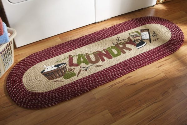 Laundry Room Rug Decorative Braided Runner Domestic Divas Coupons