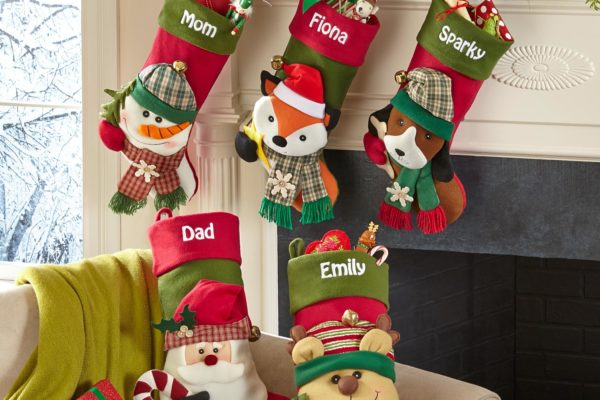 Big Face Jingle Bell Personalized Stocking Domestic Divas Coupons