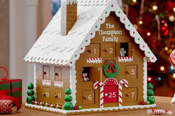 Gingerbread House Advent Calendar DomesticDivasCoupons