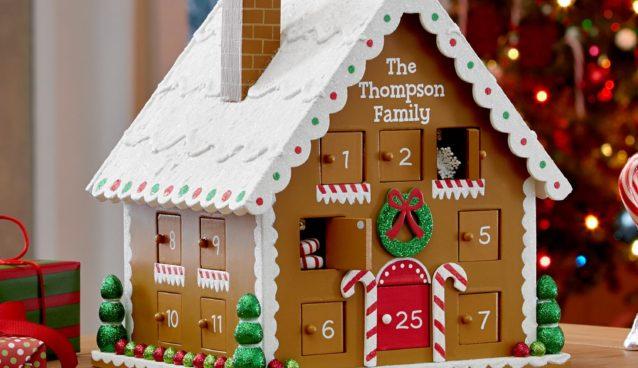 Gingerbread House Advent Calendar DomesticDivasCoupons