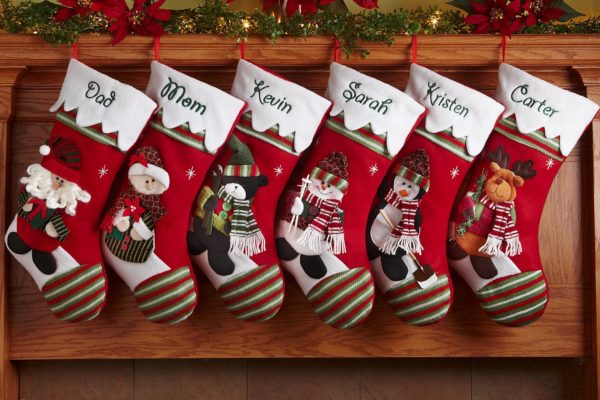 Personalized Christmas Stockings Winter Wonderland  Domestic Divas Coupons