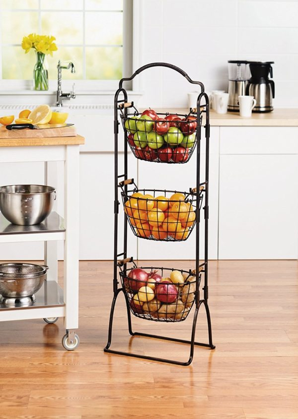 3-Tier Wire Market Basket Domestic Divas Coupons