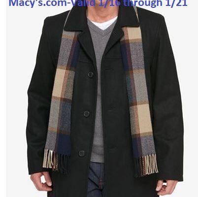 50% Off Men's Coats & Jackets At Macys.com!