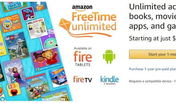 Amazon FreeTime Unlimited Free Trial Domestic Divas Coupons
