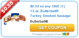 Butterball Smoked Sausage Coupon Plus Ingles Coupon Matchup!