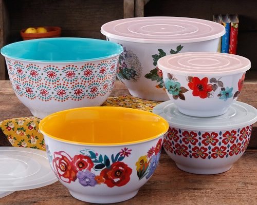 Garden Nesting Mixing Bowl Set-10-PC Only $24.50!