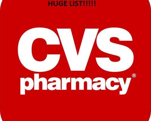 CVS Coupon MatchUps ForFeb 4 -10-18