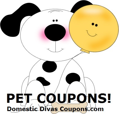 Check Out All the New Pet Coupons! DomesticDivasCoupons