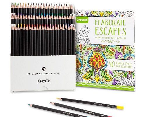 CrayolaElaborate Escapes Coloring Book Bundle