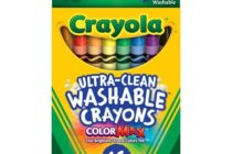 Crayola Ultra-Clean Washable Crayons 16 ct.-$2.99!