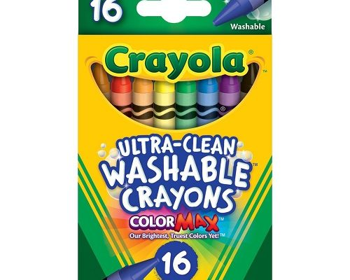 CrayolaUltra-Clean Washable Crayons 16 ct.-$2.99!