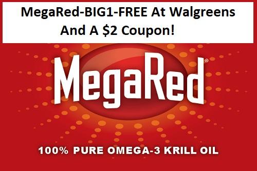 Megared Big1 Free At Walgreens And A 2 Coupon Domestic Divas Coupons