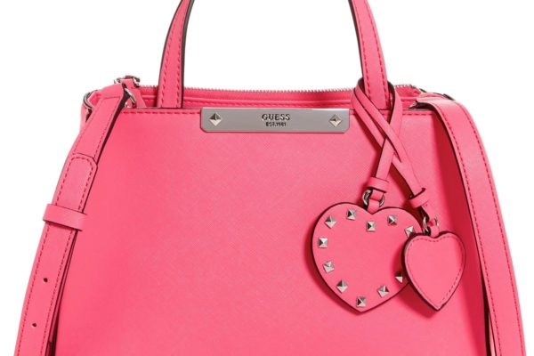ONLY-$52.80-GUESS Britta Society Small Top Handle Satchel