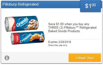Pillsbury Refrigerated Baked Goods Coupon-Save$1.00 DomesticDivasCoupons