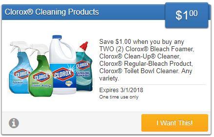 SavingStar Clorox Coupon-Save-$1.00!! Domestic Divas Coupons