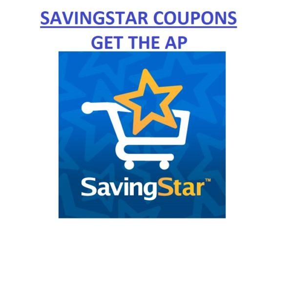 SavingStar Coupons-Get The AP!