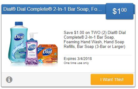 Stack Printable Dial Coupon With SavingStar Dial Coupon To Save Even More! DomesticDivasCoupons
