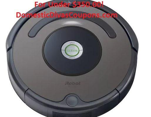iRobot Roomba 635 Robotic Vacuum For Under $350.00!