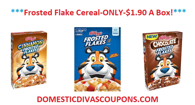 Frosted flakes coupon 2018