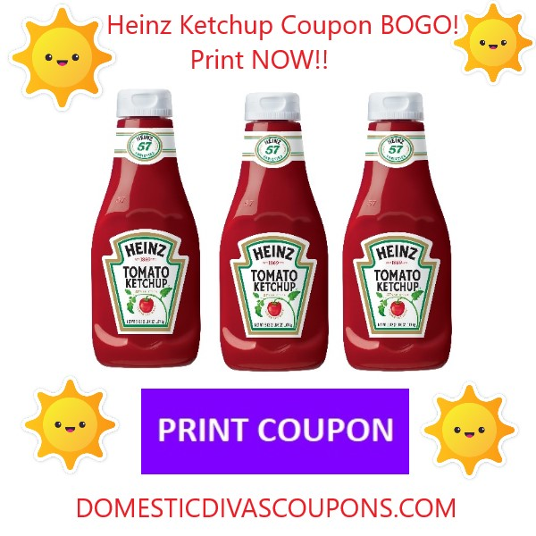 Heinz ketchup coupons printable 2018