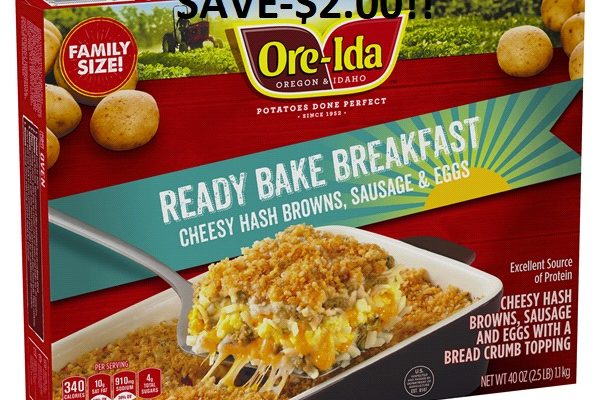 ore ida breakfast bake product
